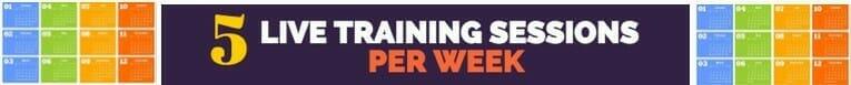 5 training per week