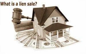 What is a lien sale?