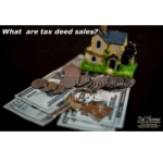 What are tax deed sales?
