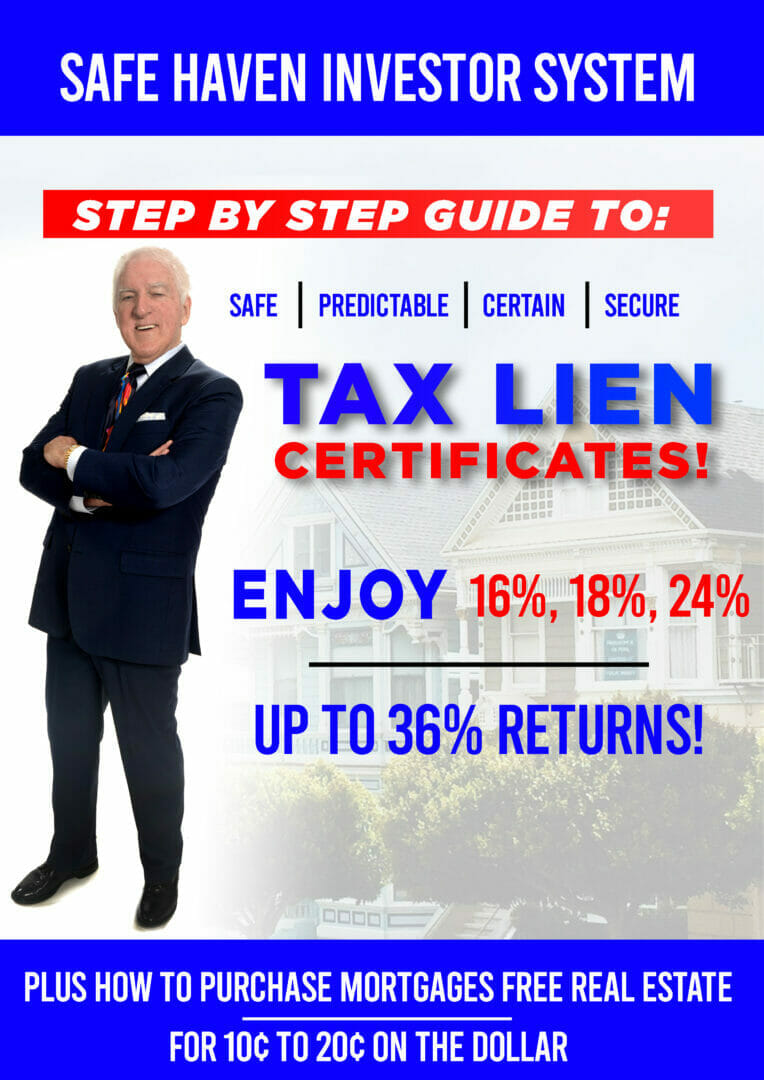 how to buy tax lien certificates with safe haven