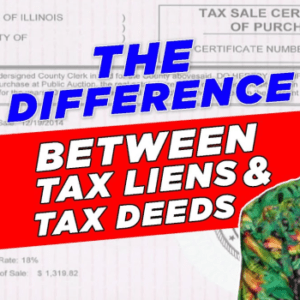 difference between tax liens and tax deeds