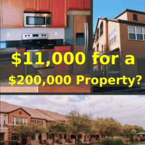 how to buy a house by just paying the taxes